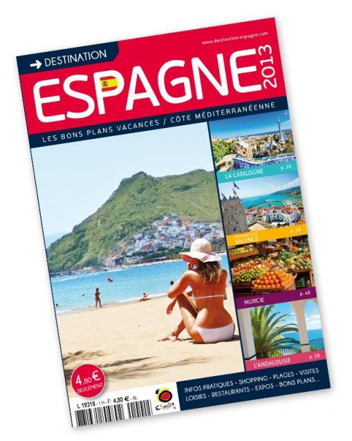Couverture du guide Destination Espagne