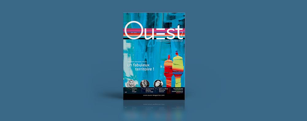 Couverture Ouest magazine été 2014