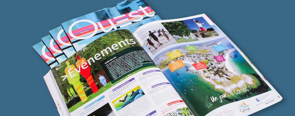 Pages intérieures Ouest magazine été 2014