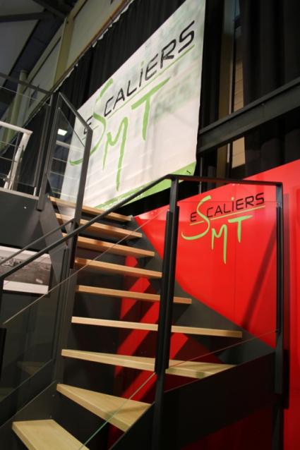Stand pour SMT Escaliers - Salon de l'Habitat à Vannes