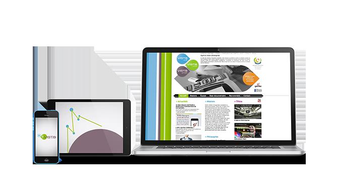 Site web Vista Conseil