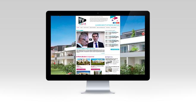 Site web de TV Ouest Immobilier