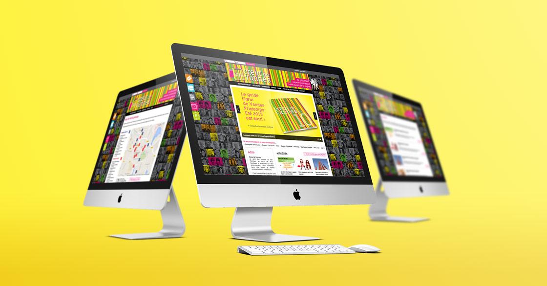 Site internet Cœur de Vannes