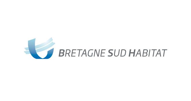 Logo de Bretagne Sud Habitat