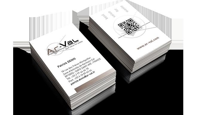 Papeterie pour Ar-Val, inventeur de solutions pour le tri des déchets