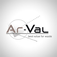 Logotype pour Ar-Val, inventeur de solutions pour le tri des déchets